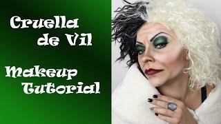 Cruella de Vil (101 Dalmatians) - Makeup Tutorial