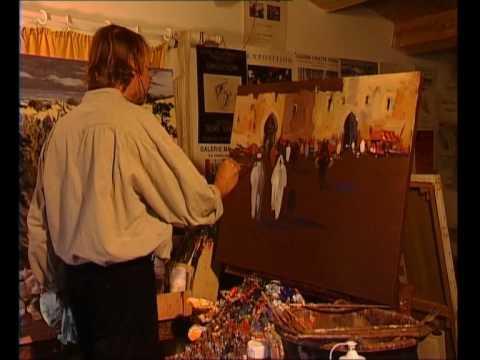 Peindre Un Paysage Oriental Par Le Ma Tre Olivier Suire