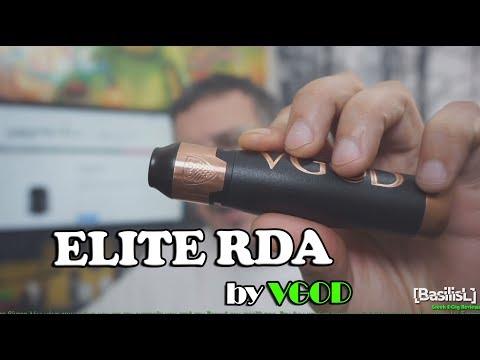Elite RDA by VGOD - BasilisL (Greek Reviews)