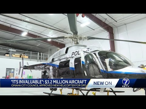 Omaha City Council approved new helicopter for OPD