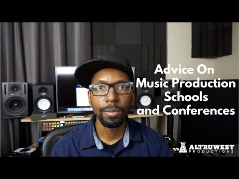 Advice on Music Production Schools and Conferences (iStandard, A3C, BMI, ASCAP, SAE, MI, etc)