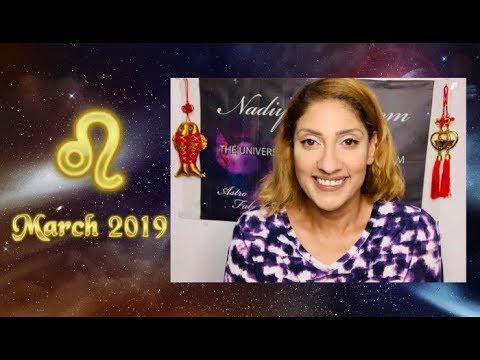 67d915cf2091 ♌ Leo March 2019 Astrology Horoscope by Nadiya Shah - YouTube