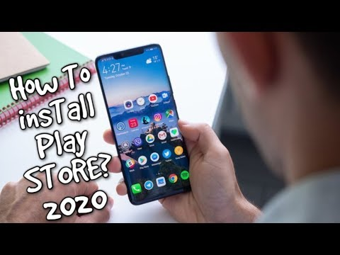 How To Install Google Apps/Play Store Huawei Phones/Nova 6/Mediapad M6/Honor V30/MatePad Pro