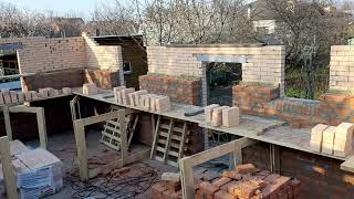 Строительство дома город Краснодар. Строительство ведем строго по проекту.