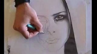 AVRİL LAVİGNE PORTRAİT drawing portraits gökhan sav