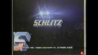 ZZ Top - (2) Schlitz Rocks America commercials - 1983