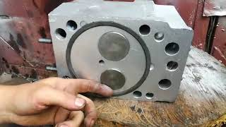 головка блока цилиндров камаз гбц камаз ремонт гбц камаз
