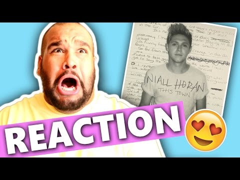 NIALL HORAN - THIS TOWN [REACTION]