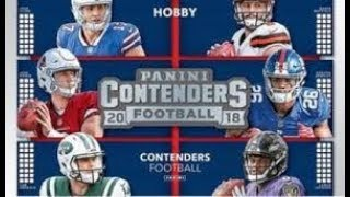 2018 Contenders Football - Box 3 - Another HOF Auto and SP Rookie QB Auto!!!