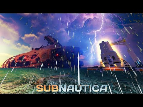 Subnautica 1.0 - THE DEVS GAVE US SOMETHING AMAZING! STORMS, FULL RELEASE, The Unfinished Rocket!