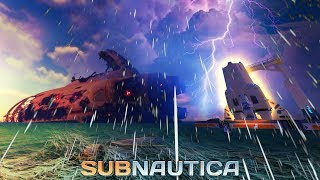 Subnautica 1.0 - THE DEVS GAVE US SOMETHING AMAZING! Storm Info, Unfinished Rocket Preview!