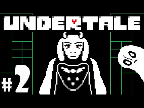 UNDERTALE Blind Gameplay Playthrough PART 2 - VS Napstablook, Toriel's Home, & Ruins Boss Fight