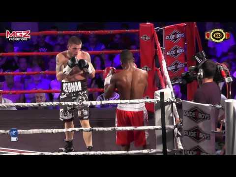 Combate Profesional Grabado en HD Kerman Lejarraga vs Azael Cosio