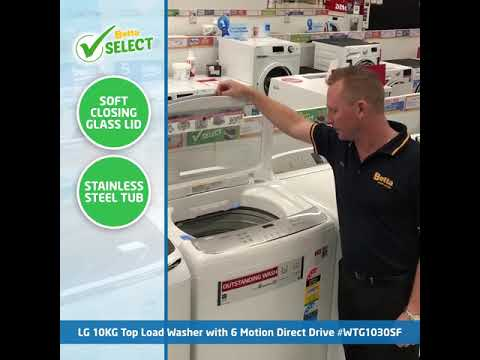 LG Top Load Washer | Betta Select