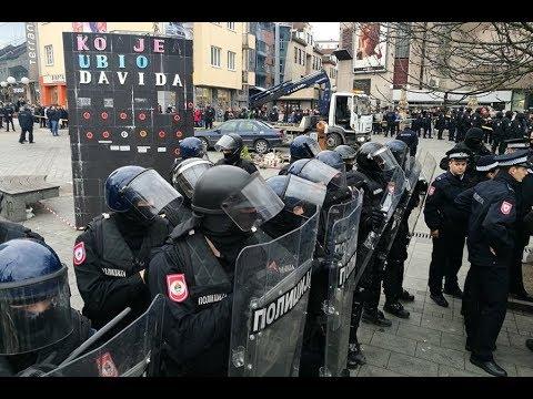 Uhapšen Davor Dragičević – dramatično na Trgu Krajine u Banjaluci – 25.12.2018.