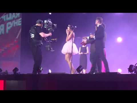 Ольга Бузова, победитель, лучшая песня рунета Мало Половин, премия муз-тв,  08 июня 2018 г.