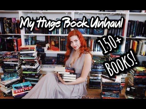 BYE BYE BOOKS | My Final Unhaul!
