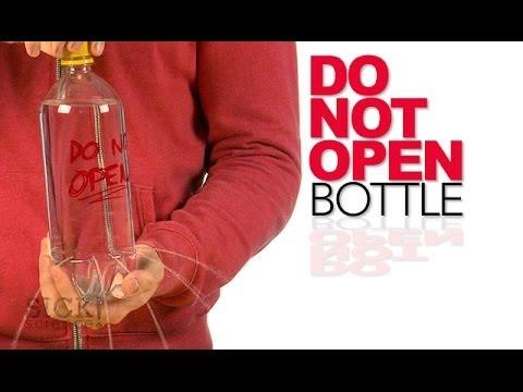 Do Not Open Bottle - Sick Science! #184