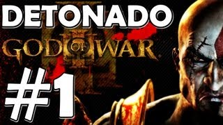 God of War 3 Detonado - # 1 : Kratos Vs Poseidon