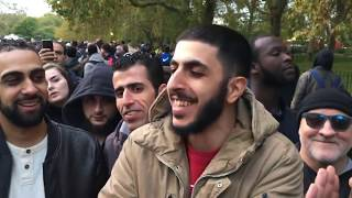 Clash! Ali Dawah & Tommy Robinson Supporter | Speakers Corner | Hyde Park