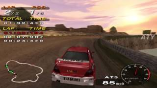 PCSX2 Driving Emotion Type-S Province Expert Mitsubishi Evo 6 Tommi Edition GAMEPLAY