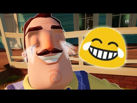 EMOJIS IN HELLO NEIGHBOR | Hello Neighbor Mod