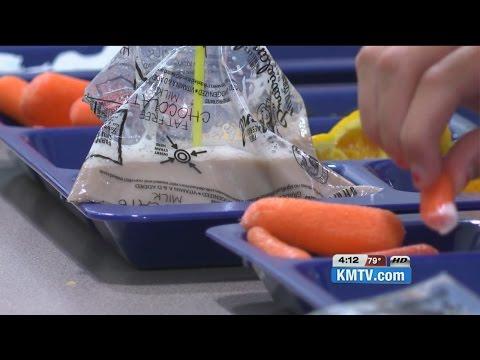 Schools replace milk carton with milk bags