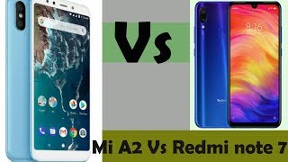 Xiaomi Mi A2 Vs Xiaomi Redmi Note 7 Full comparison | which smartphone is best ??