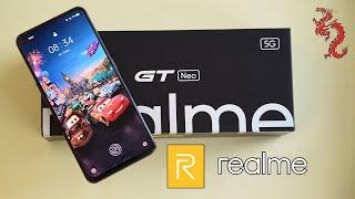 ВЗРОСЛЫЙ обзор Realme GT Neo //Флагманский SoC от Mediatek