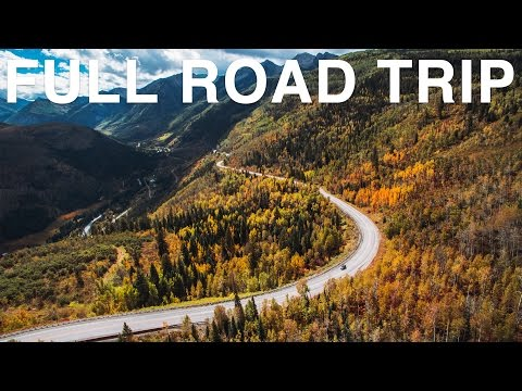 Full Road Trip | Driving from the Rocky Mountain Foothills t