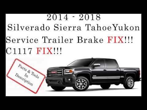 [SCHEMATICS_4HG]  C1117 FIX!!! SERVICE TRAILER BRAKE FIX!!!! - YouTube | 2015 Gm Pick Up Trailer Wiring |  | YouTube