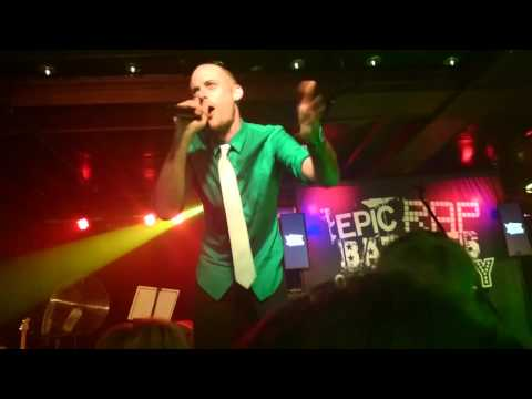 Epic Rap Battles of History - Live at NYC Webster Hall (9/12/15)