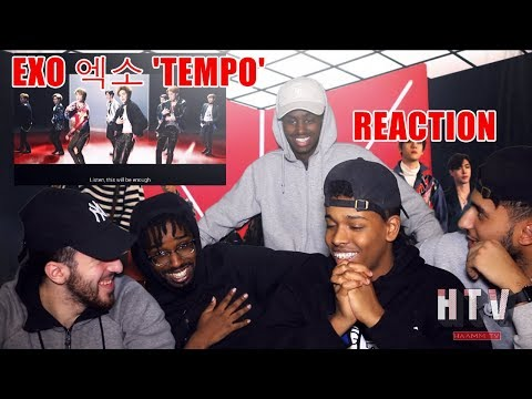 EXO -  'Tempo' MV (REACTION&REVIEW) FIRST TIME LISTEN! *BEST EXO SONG EVERRR?!*