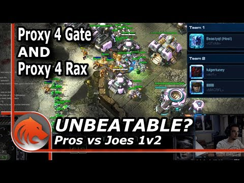 Getting 4 Rax and 4 Gateway Proxied! - Pros vs Joes 1v2!