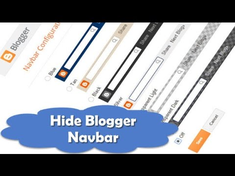 3 Way To How To Delete Or Hide Navbar In Blogger Template