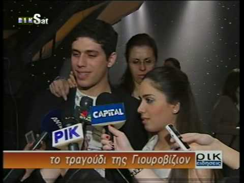 Nikolas and Christina Metaxas sto RIKsat news
