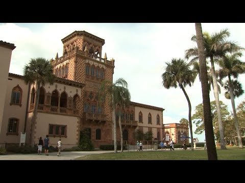 Sarasota's Ca' d'Zan is filled with architectural beauty, and a great love story