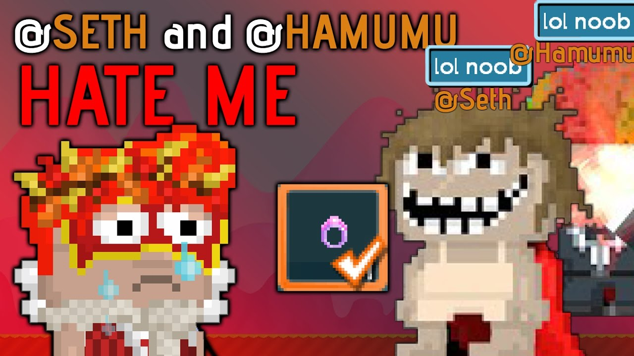 Growtopia Seth And Hamumu Hate Me Getting My 2nd Carnival Ring By Lavaflow Growtopia