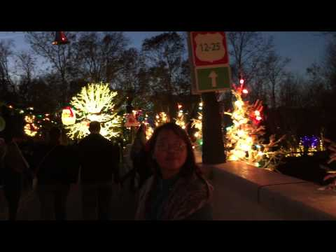 Vacations on Christmas town Virginia