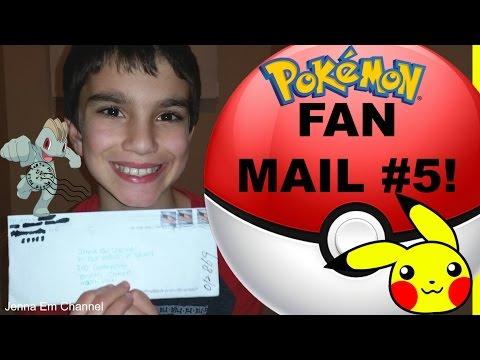 Pokemon Fan Mail #5 from North Carolina! Jenna Em