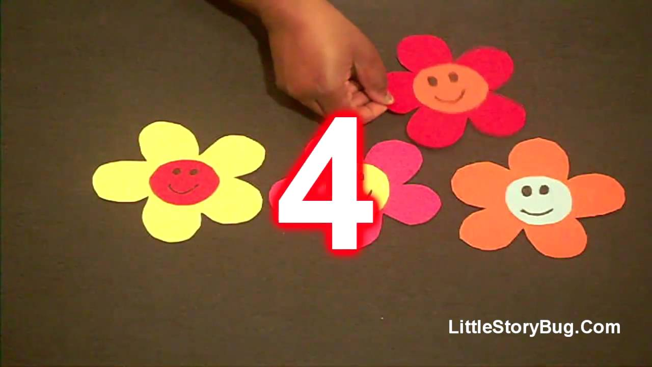 Preschool song for spring 5 spring flowers littlestorybug youtube mightylinksfo Image collections
