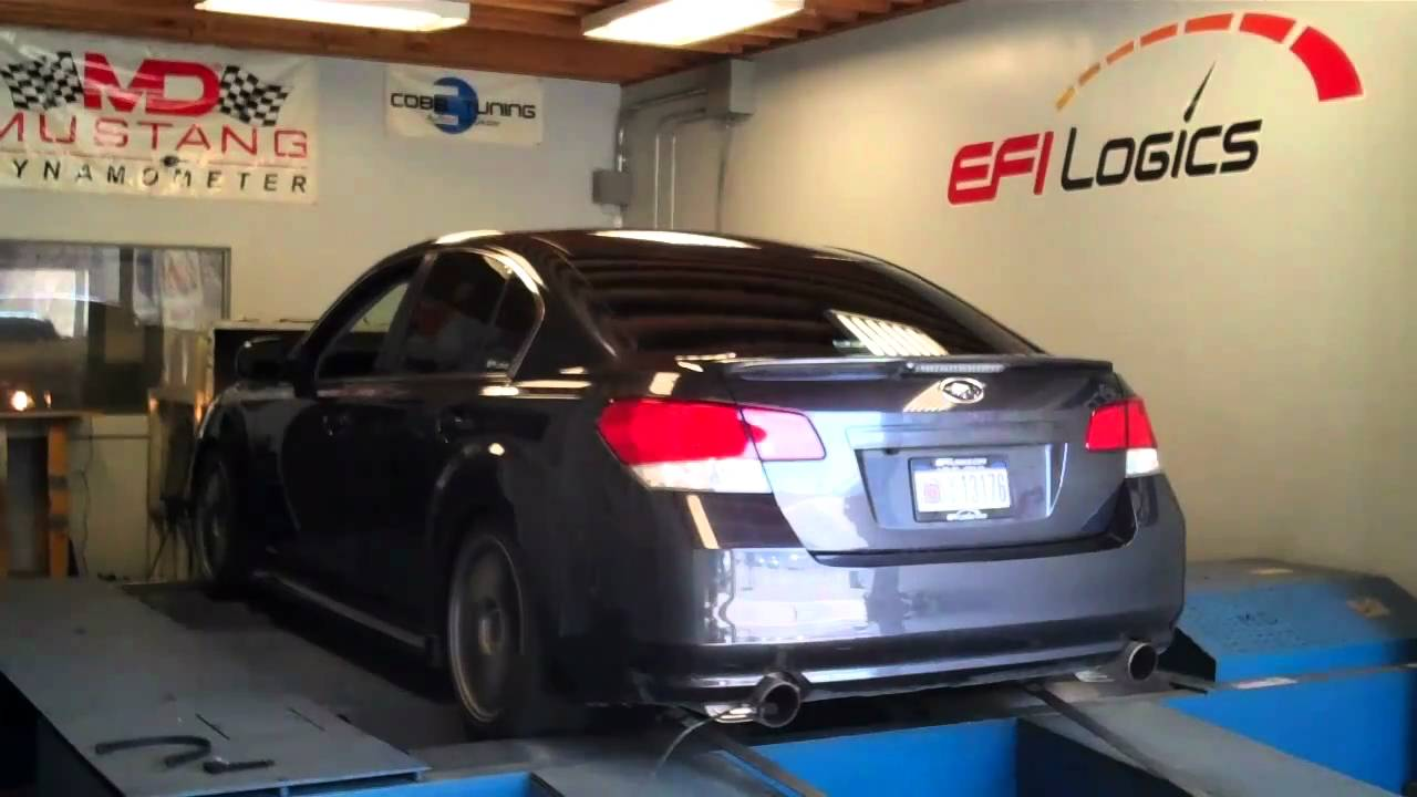HTA68 Powered 2010 Legacy GT 318whp 348wtq - YouTube