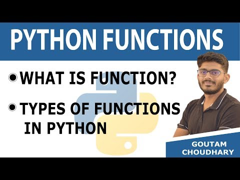#23 Types of Functions in Python - Python Programming Tutorial for Beginners (2019) thumbnail