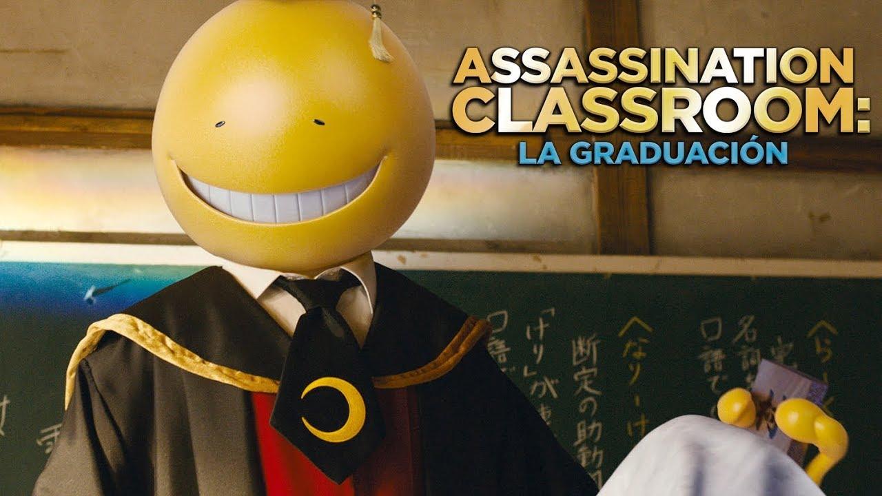 Assassination Classroom La Graduacion De Eiichiro Hasumi Trailer Espanol Youtube