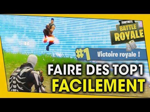 FAIRE DES TOP1 FACILEMENT ! FORTNITE BATTLE ROYALE