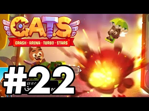 BEATING THE GAME... AGAIN?! | C.A.T.S | Crash Arena Turbo Stars Gameplay Part 22