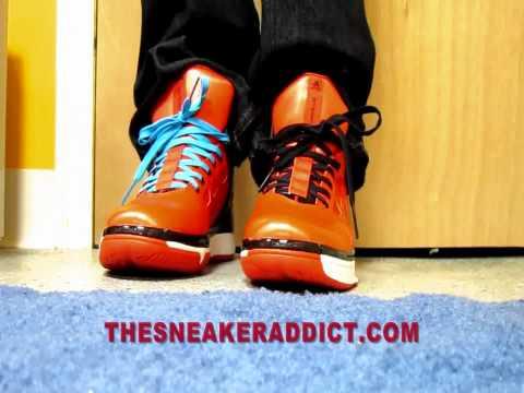 Adidas adizero Derrick Rose 2 L-Train Sneaker Review W/ @DjDelz