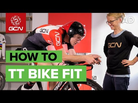 Dr Pooley's Aero Bike Fit | How To Find Your Time Trial Position