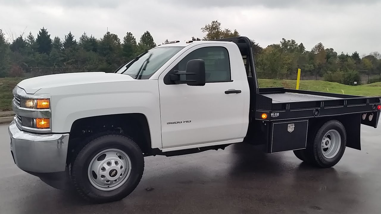 Sold 2015 chevrolet 3500 cab chassis 6 0l 4x4 9 wil ro flat bed new for sale call 855 507 8520 youtube