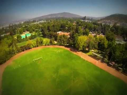 Quadcopter First Flight at Club Medico Chile